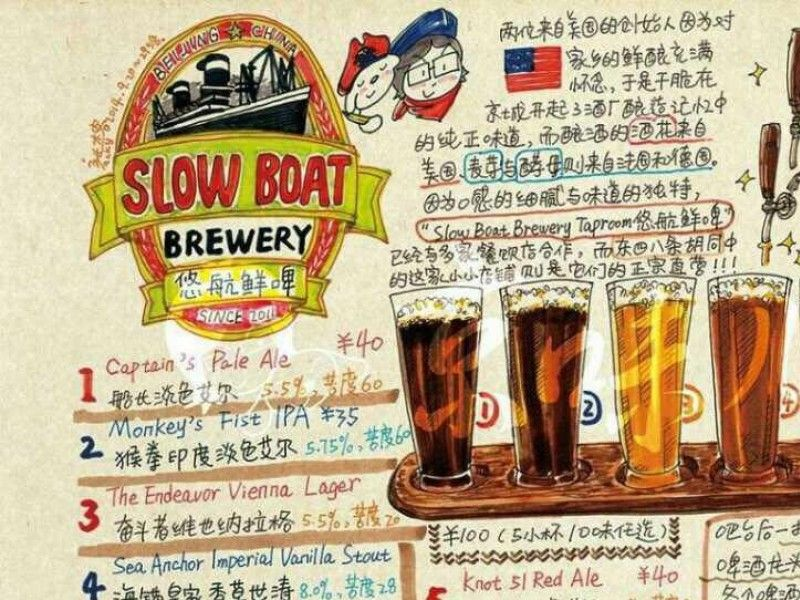 illustration of Slow Boat Brewery #1