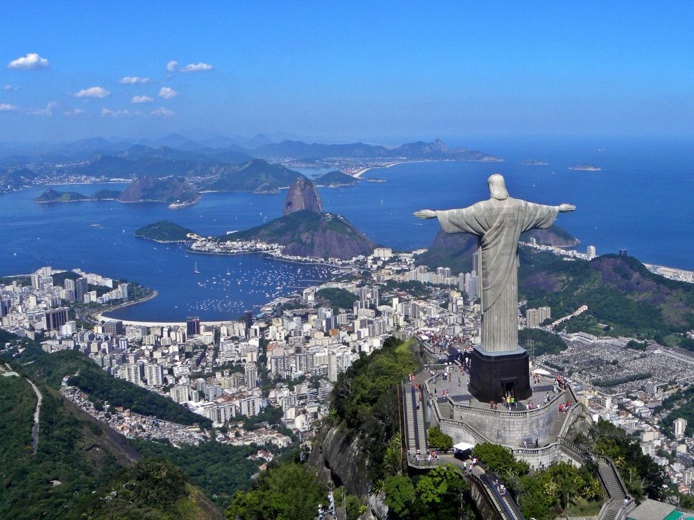 illustration of Climb Up To Christ the Redeemer #3