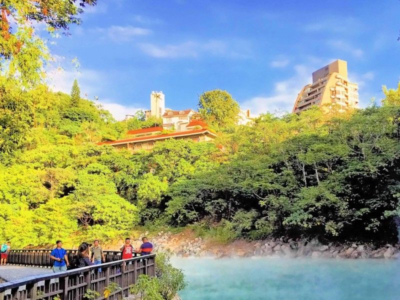 illustration of Beitou Hot Springs #1