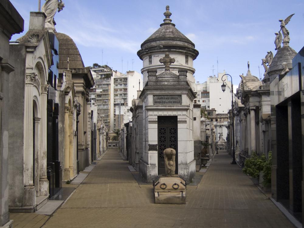 illustration of Buenos Aires Recoleta Cemetery #3