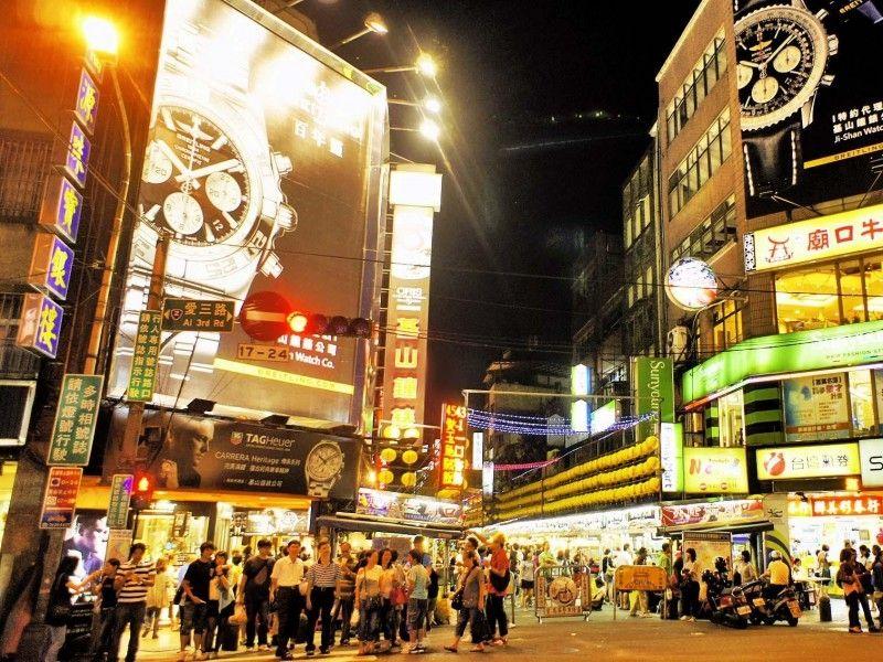 illustration of Keelung Night Market #2
