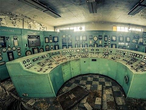 illustration of Abandoned Power Plant #3