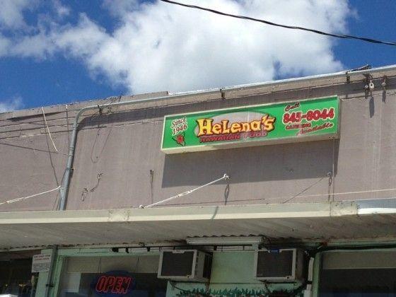 illustration of Helena's Hawaiian Food #2