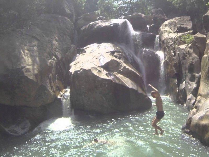 illustration of Ba Ho Waterfalls Cliff Jumping #1