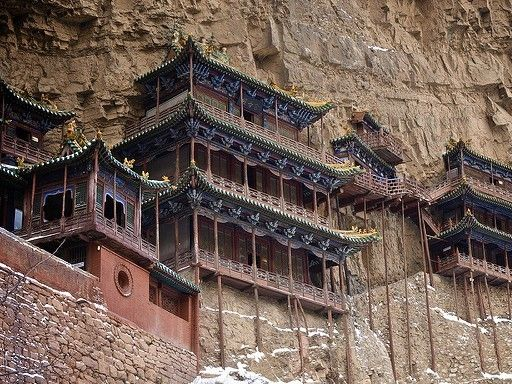 illustration of Hanging Monastery #2