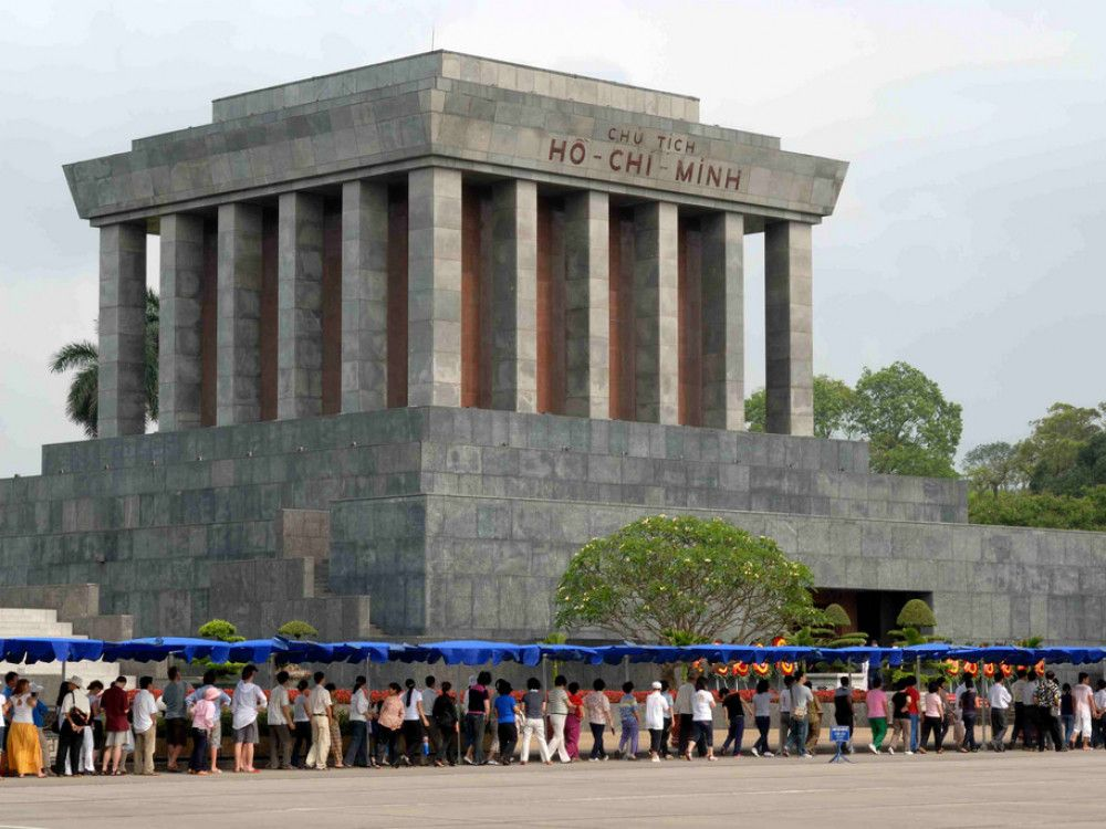 illustration of Ho Chi Minh Mausoleum #1