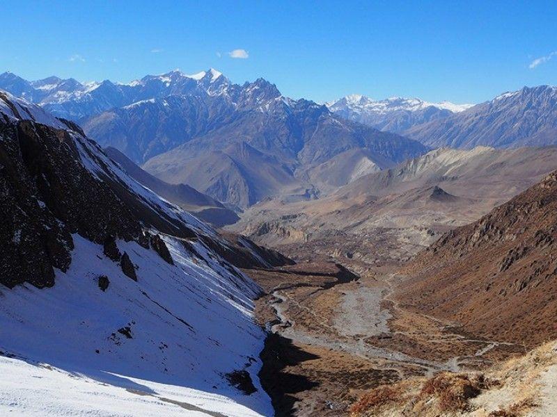 illustration of Hike & Bike Annapurna Circuit #3