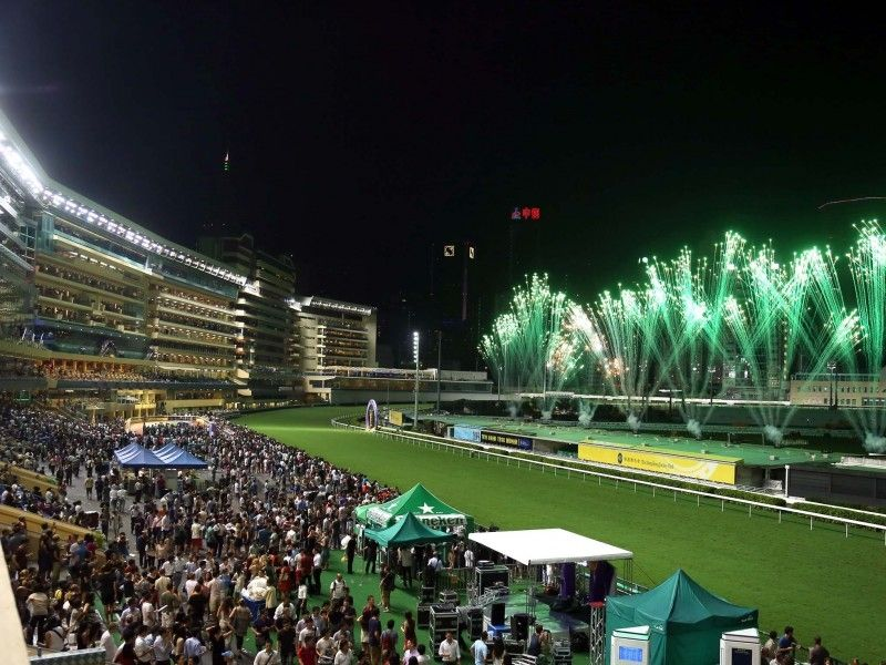 illustration of Happy Valley Racecourse #2