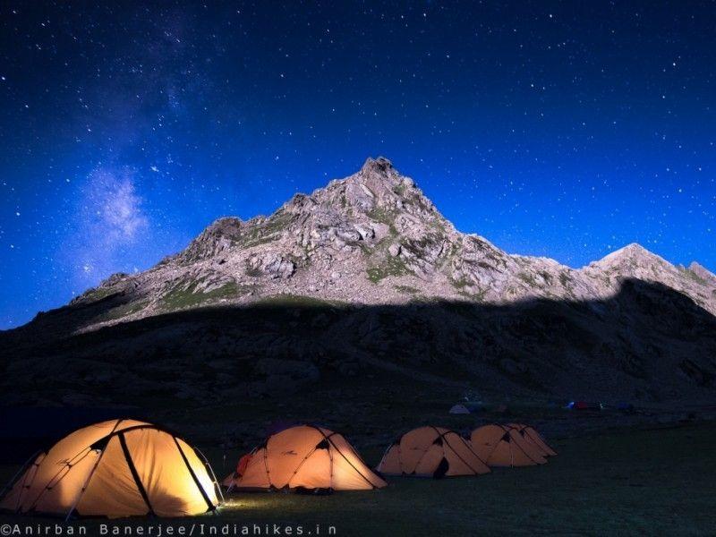 illustration of Kashmir Great Lakes Trek #2