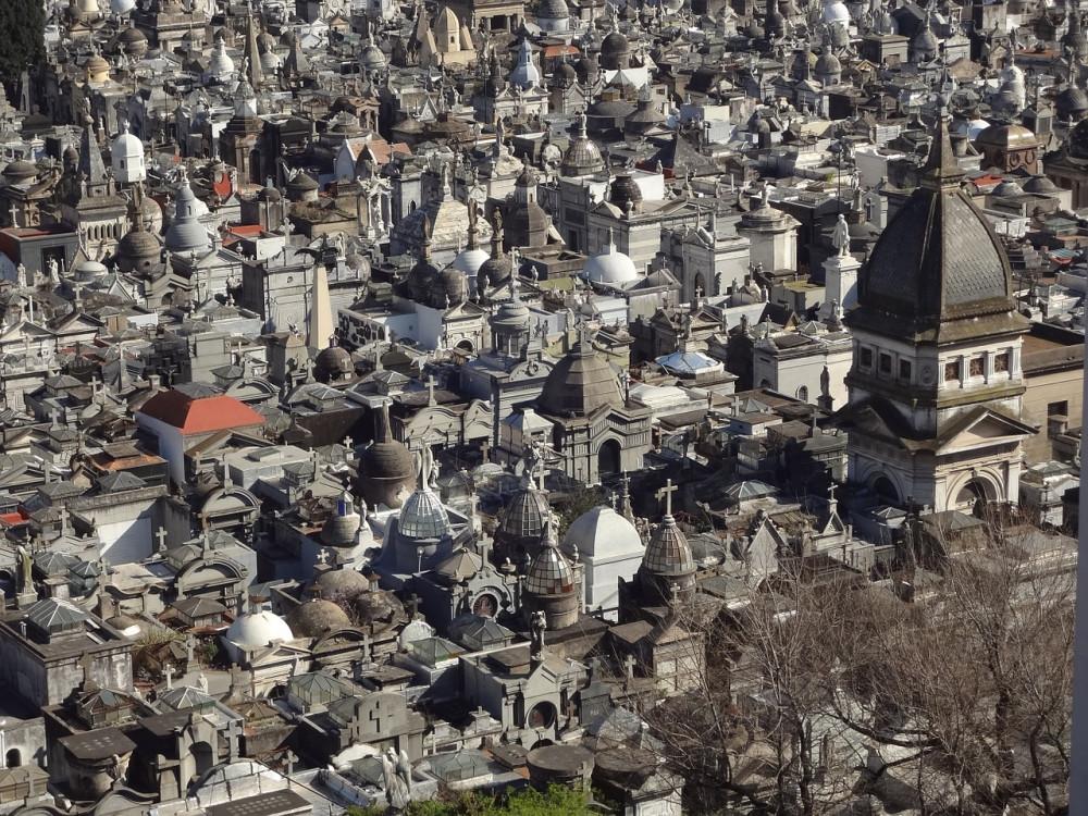 illustration of Buenos Aires Recoleta Cemetery #2