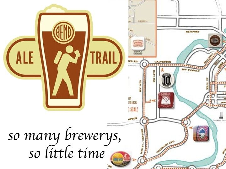 illustration of The Bend Ale Trail #1