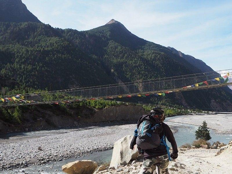 illustration of Hike & Bike Annapurna Circuit #6