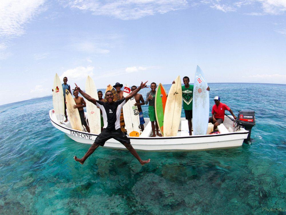 illustration of Surf Fiji #1
