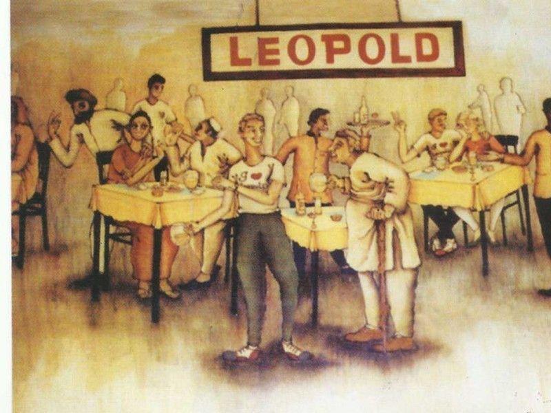 illustration of Leopold Cafe #1