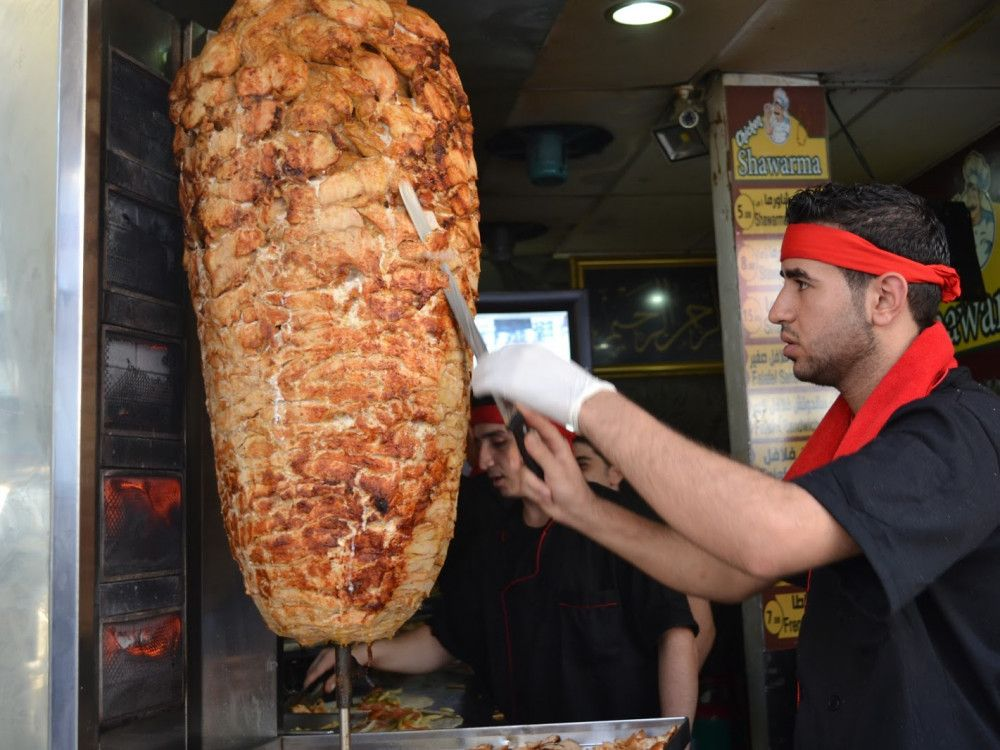 illustration of Arab Shawarma #1