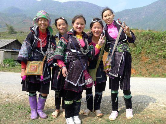 illustration of Sapa Sisters Trekking #2