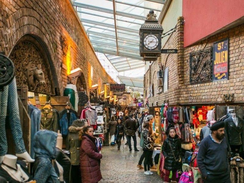 illustration of Camden Market #1