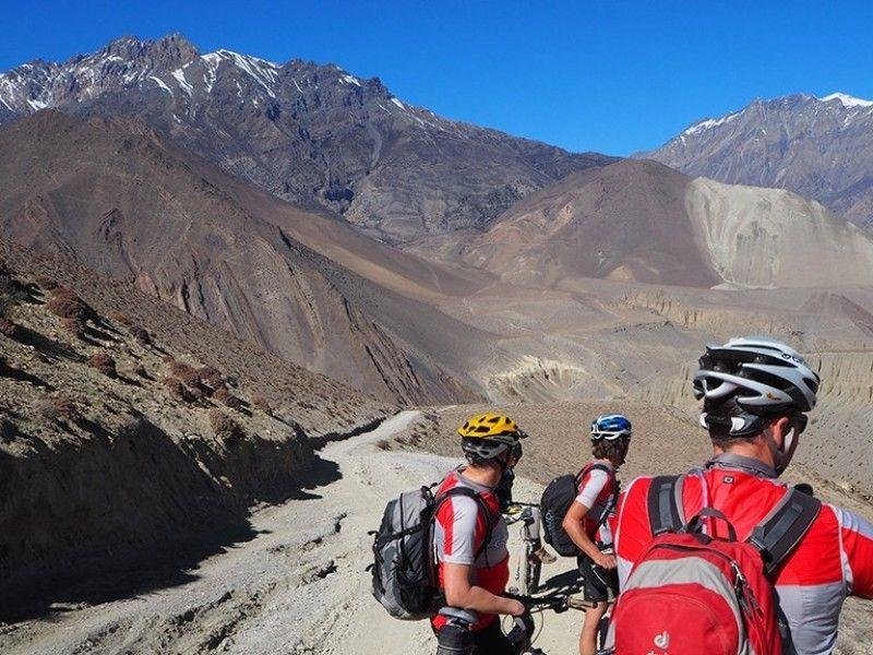 illustration of Hike & Bike Annapurna Circuit #1