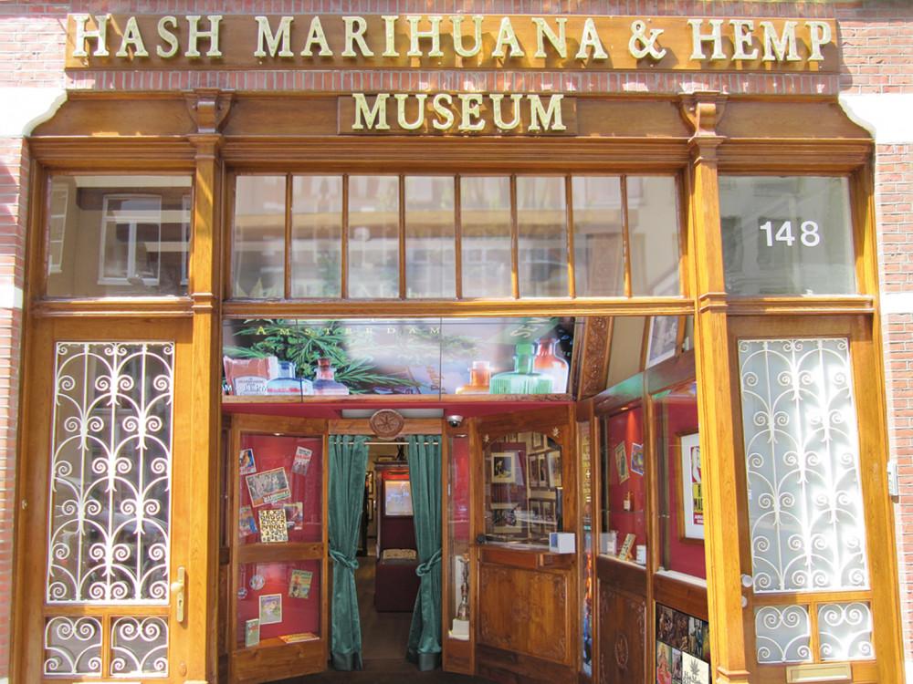illustration of Hash Marihuana & Hemp Museum #3