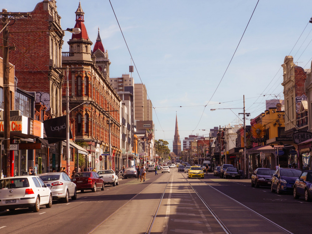 illustration of Brunswick Street #1