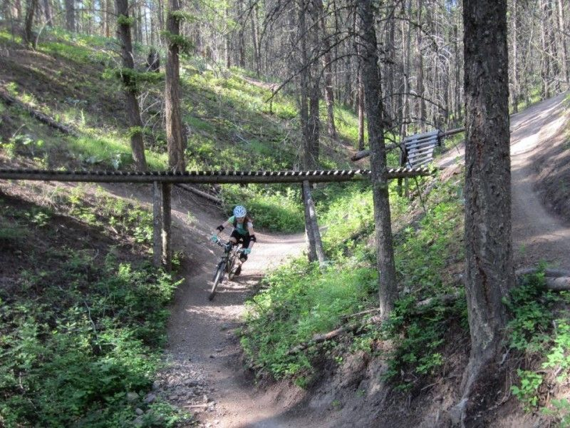 illustration of Mountainbiking Smith Creek  #1