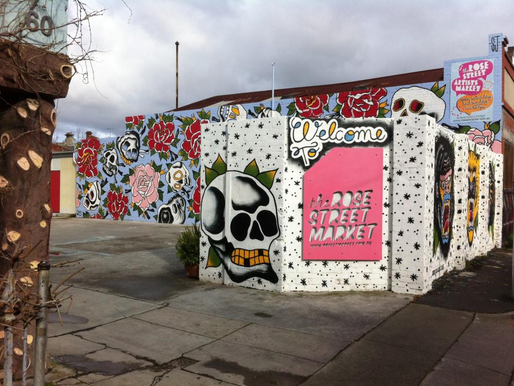 illustration of The Rose St. Artists' Market #1
