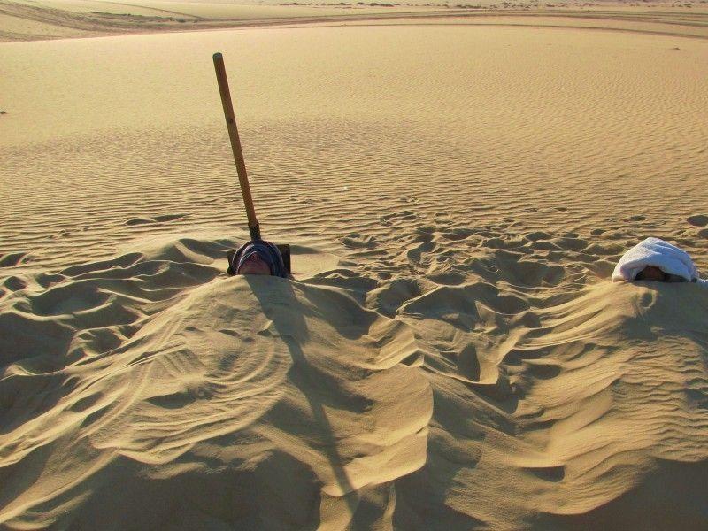illustration of The Siwa Sand Bath #1