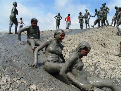 illustration of Mud Volcanoes of Azerbaijan #1