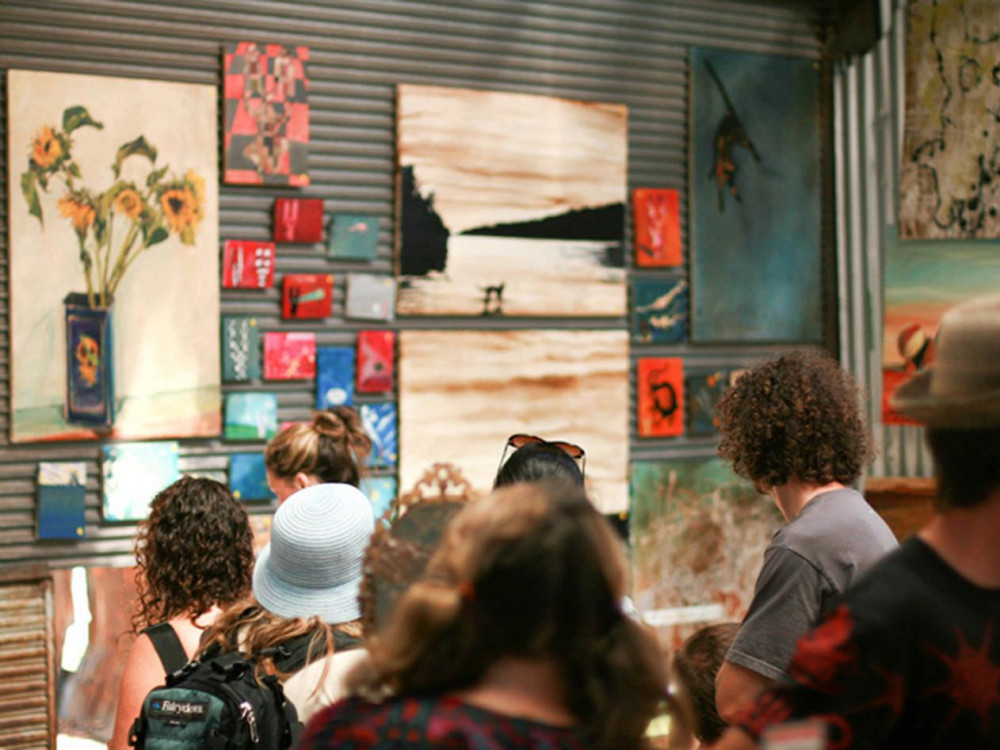 illustration of The Rose St. Artists' Market #2