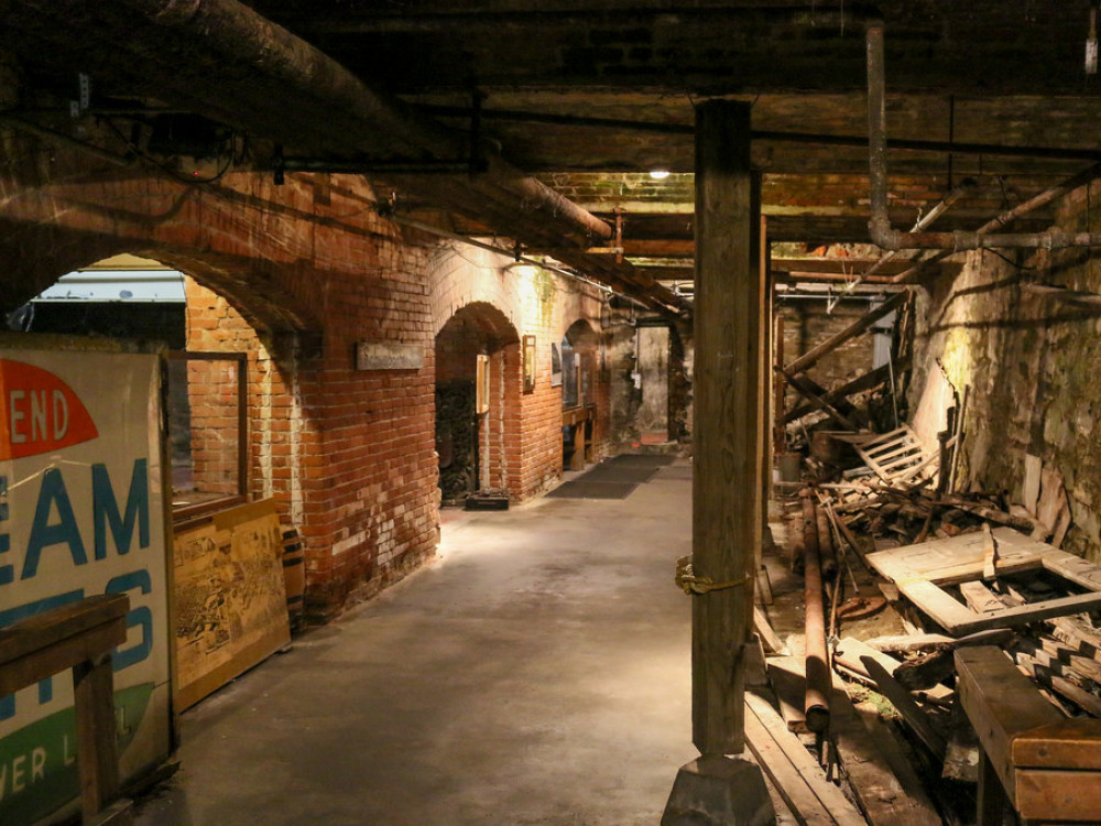 illustration of Seattle Underground #1
