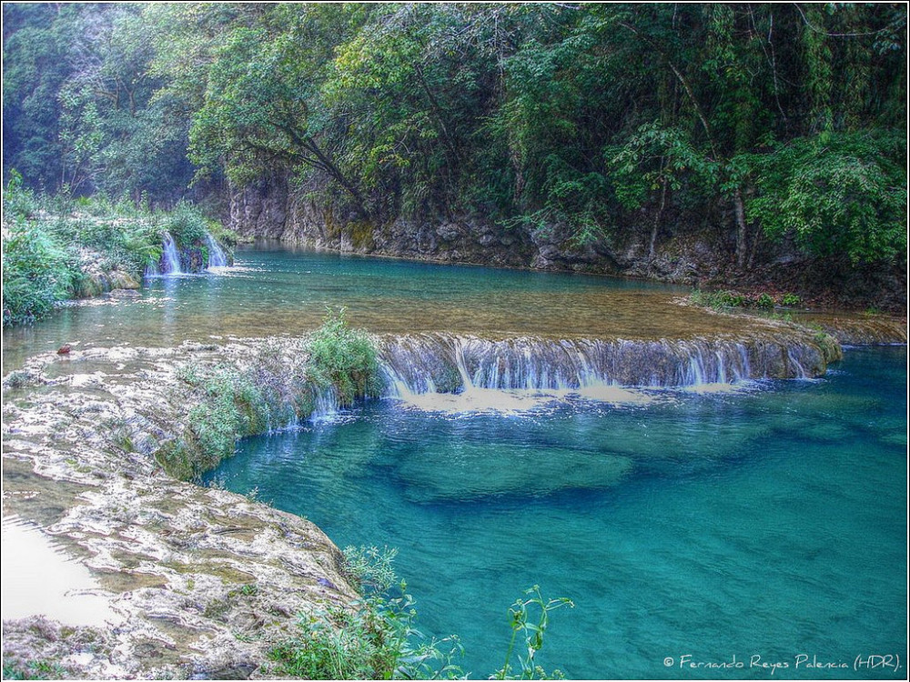 illustration of Semuc Champey #3