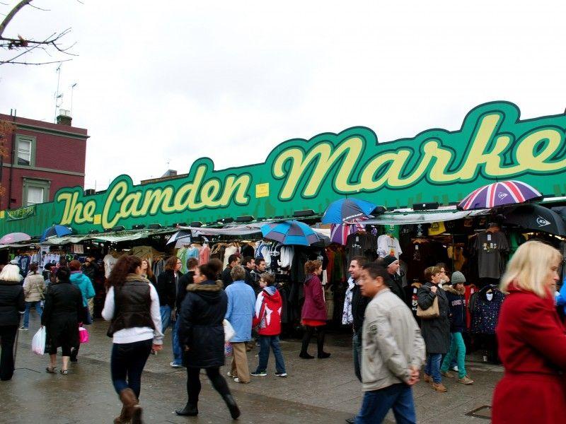 illustration of Camden Market #2