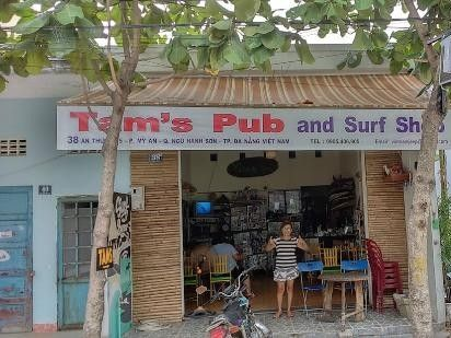 illustration of Tam's Pub & Surf Shop #2