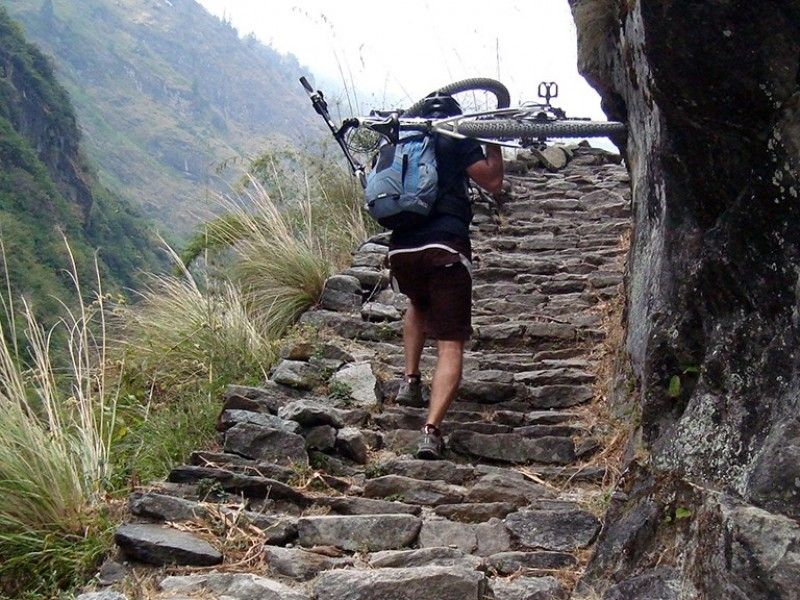 illustration of Hike & Bike Annapurna Circuit #2