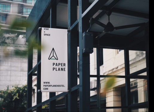logo of Paper Plane Hostel