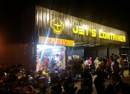 logo of Jets Container Night Market