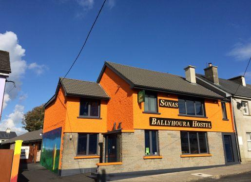 logo of Ballyhoura Luxury Hostel