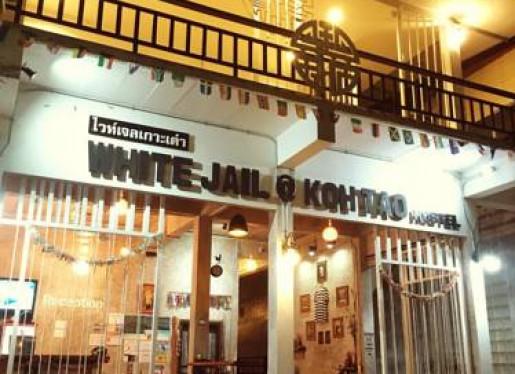 logo of White Jail at Koh Tao Hostel
