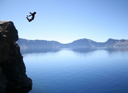 logo of Cliff jump at Crater Lake