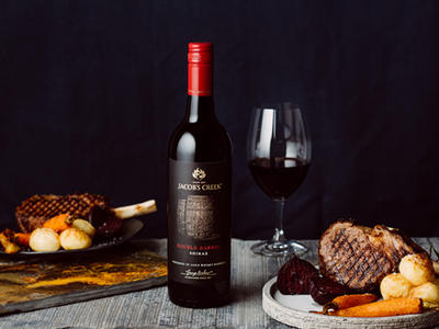 Food Pairing - Lamb & Vegetables with Jacobs Creek Double Barrel
