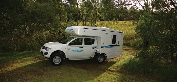 Cheapa Campa campervan - 4wd