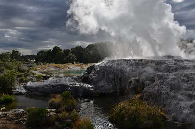 Hot Springs of Rotorua New Zealand