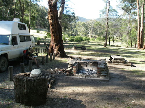 Free campsite in Victoria Australia - great for campervans
