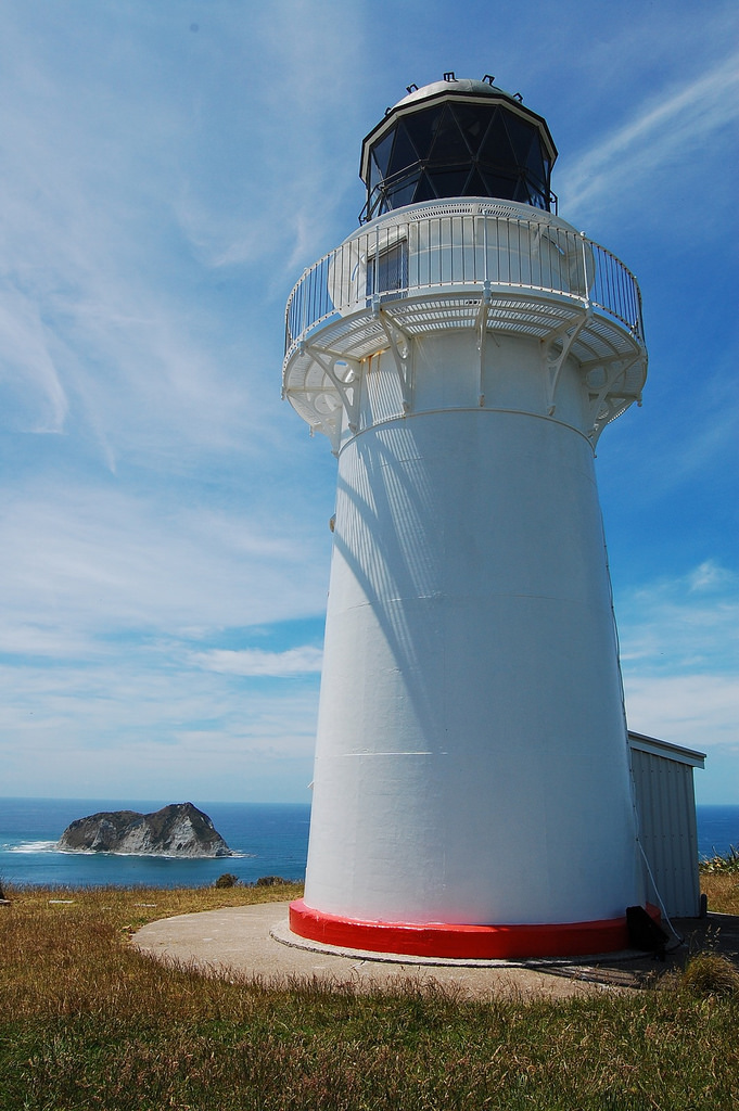 Light house at East Cape, New Zealand