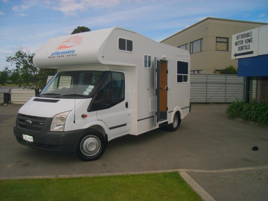 Affordable campervan hire from New Zealand