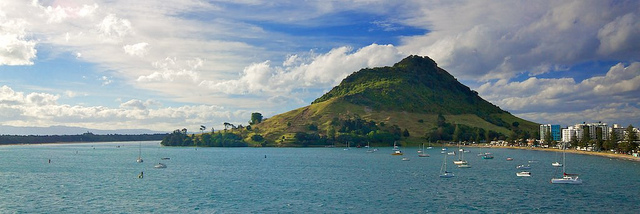 Tauranga New Zealand  - campervan hire is available from this town