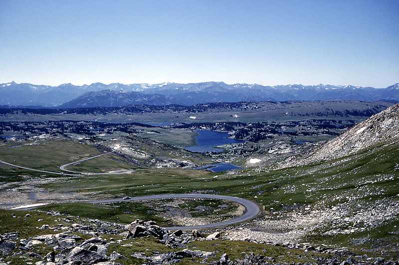 Beartooth National Highway, great with a rented RV