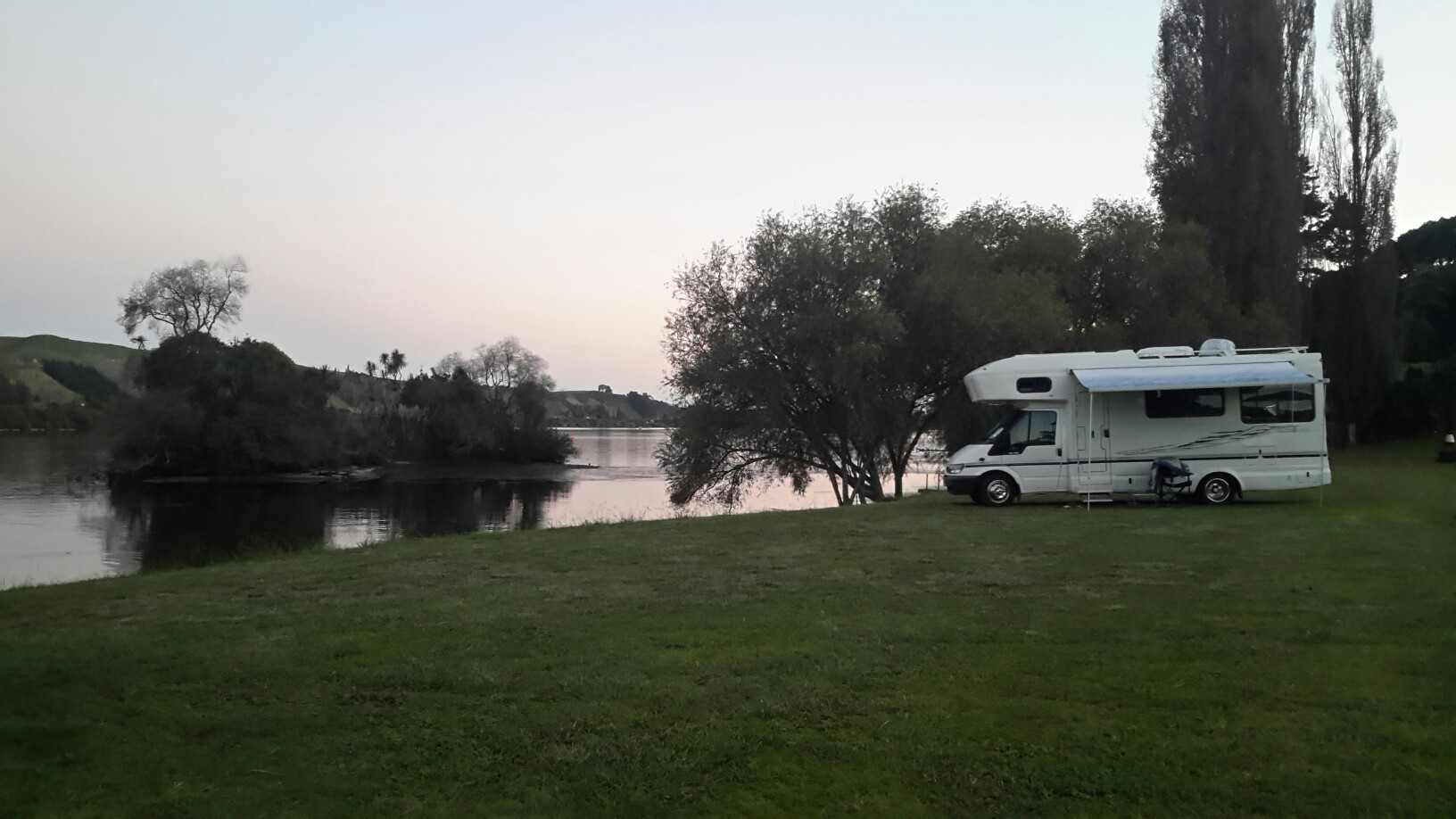 AJ's Motorhome Park - Horahora New Zealand, a great place for the campervan overnight
