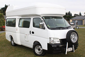 Adventure Vans NZ 3 berth campervan for hire