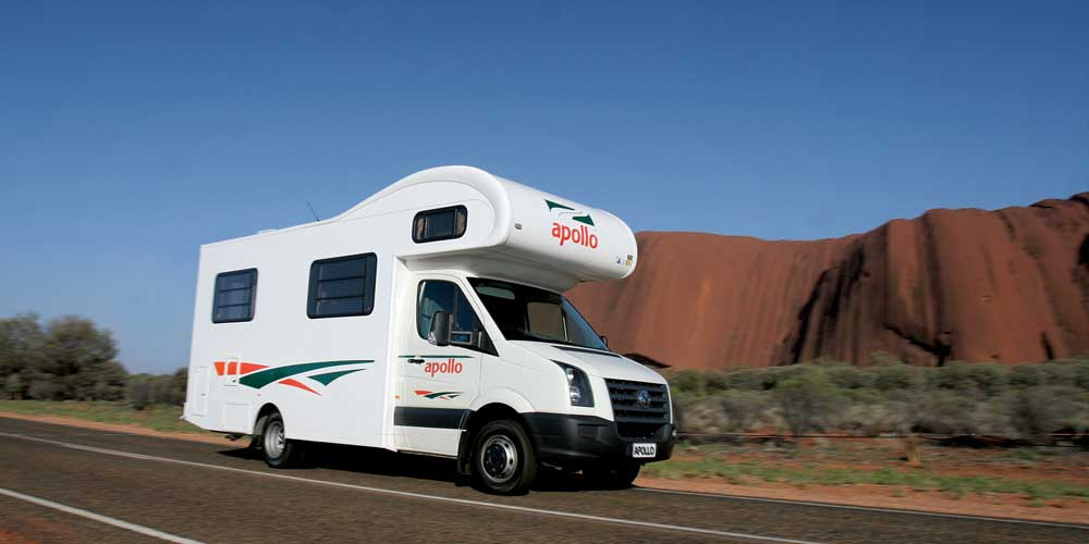 Apollo campervan hire Australia Eurocamper Exterior